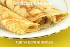 Living Without - Gluten-Free, Dairy-Free Easy Breakfast Crepes - Recipes Article - with an egg-free option Today's Recipe, Recipe Making, Recipe Log, Palacinke Recipe, Banane Plantain, Breakfast Crepes, Morning Breakfast, Gluten Free Breakfasts, Dairy Free