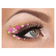 30 stunning (and incredibly creative) eye makeup ideas Blog of... ❤ liked on Polyvore featuring beauty products, makeup and eye makeup