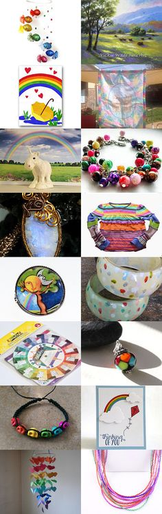 Somewhere Over The Rainbow by Nancy on Etsy--Pinned+with+TreasuryPin.com