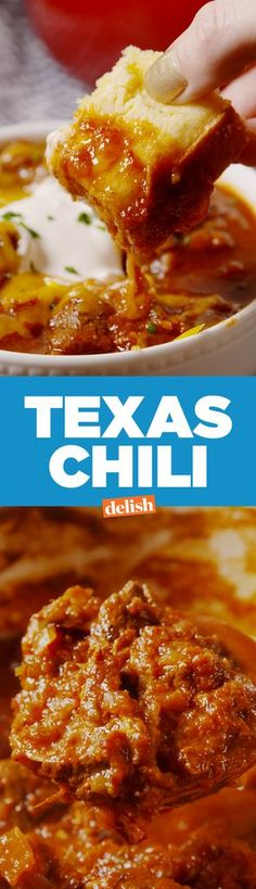 Here's How To Make Real Texas Chili—Now, Bring On The Haters  - Delish.com