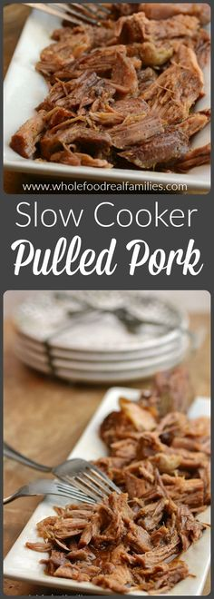 Slow Cooker Pulled Pork from Whole Food | Real Families.  /wholefoodrealfa/