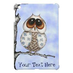 Floral Owl iPad Mini Case.  $43.95