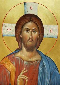 Господ Исус Христос Religious Images, Religious Icons, Religious Art, Byzantine Icons, Byzantine Art, Christ Pantocrator, Treasures In Heaven, Trinidad, Best Icons