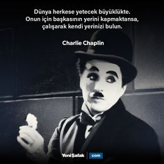 Charlie Chaplin, True Quotes, Best Quotes, Philosophical Quotes, Meaningful Words, Cool Words, Karma, Quotations, Poems