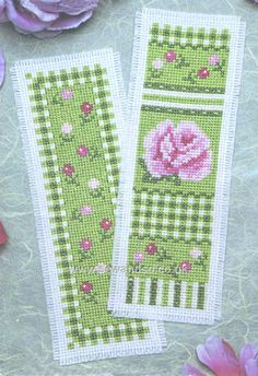 Buy Rose Medley Bookmarks Cross Stitch Kit Online at www.sewandso.co.uk