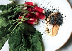 Radishes with Spicy Mayo and Sesame Salt Recipe on Yummly