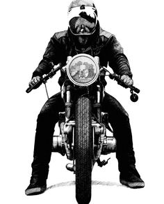 OVERBOLD MOTOR CO. Scooter Motorcycle, Motorcycle Style, Cafe Racer Motorcycle, Bicycle Sidecar, Motorcycle Birthday, Motorcycle Images, Cb 500, Motorcycle Tattoos, Bike Illustration