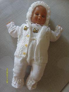 RUČNĚ PLETENÁ LUXUSNÍ KOJENECKÁ SOUPRAVIČKA / Zboží prodejce bost | Fler.cz Onesies, Kids, Baby, Clothes, Fashion, Young Children, Outfits, Moda, Boys