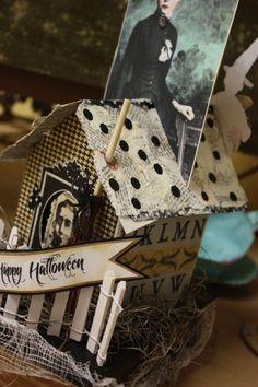 Halloween house by rhoda