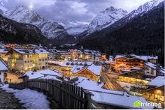 As winter approaches, the first blankets of snow are falling on the great mountains of Europe and the continent's enchanting mountain towns are gearing. Alpine Village, Mountain Village, Barcelona Tours, Italian Village, Regions Of Italy, Christmas Town, Europe, South Tyrol, Northern Italy