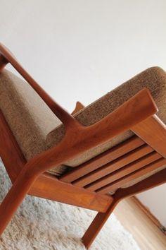 danish 60s 70s   armlehnstuhl sessel lounge easy chair denmark TEAK Glostrup