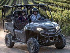 New 2016 Honda Pioneer 700-4 Honda Phantom Camo ATVs For Sale in Alabama.