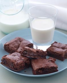 Matt and Adam are just killing us with these...  Alice's New Classic Brownie Recipe via @Cooking Channel