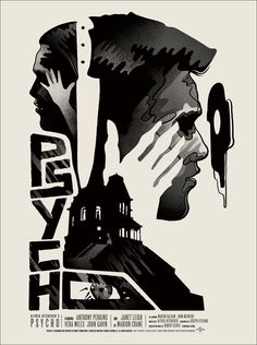 Psycho   Poster by We Buy Your Kids