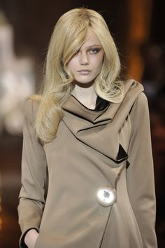 It's a wig, but I like the style. Couture Fall 2010