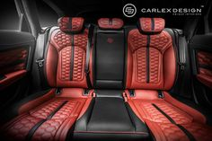 Inspiration for a custom car interior can come from all sorts of places, including the world of racing or mother nature. But our favorite source is the steampunk, a sci-fi art style that Polish interior specialists Carlex Design used to make a killer MINI. And it is them who unleashed the A6 Honeycomb onto the world wide webs today, a red and black combo that has a sting to it.