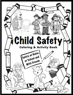 Child Safety Coloring And Activity Book