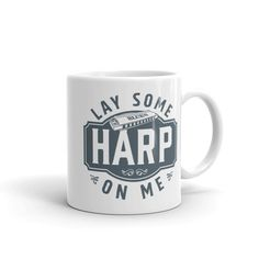 Your place to buy and sell all things handmade Tea Mugs, Coffee Mugs, Animal Mugs, Coffee Design, Harp, Morning Coffee, Nespresso, Hot Chocolate, Etsy Store