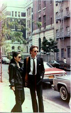 John and yoko, NYC