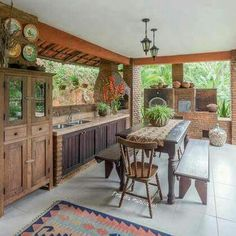 Indian home exterior outdoor spaces 26 ideas Kitchen Cabinet Design, Kitchen Decor, Sweet Home, Outdoor Spaces, Outdoor Decor, My Dream Home, Home Projects, House Plans, New Homes
