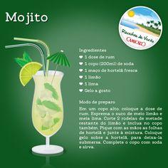Mojito; receita; verão; do it yourself; faça você mesmo