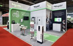 Complete custom exhibition stands hire for that professional look at your event or a hire a simple modular exhibition stand that you can build yourself. Dubai Location, Office Carpet, Electric, Exhibition Stand Design, Park Hotel, Schneider, Store Displays, Can Design, Trade Show