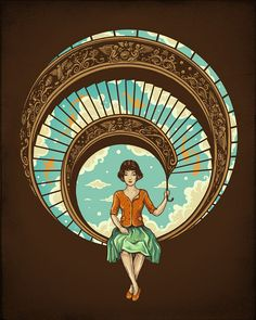 early 20th century illustration