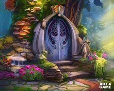 Merlin Slots - Magic Jackpot - Backgrounds on Behance