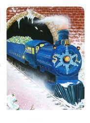 Snowland Tarot/The Train