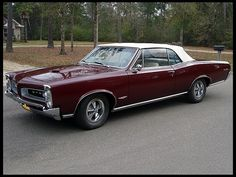 Another Muscle Car up for sale at Mecum Auctions - 1966 Pontiac GTO Convertible 67 Pontiac Gto, Pontiac Firebird, Best Muscle Cars, American Muscle Cars, 1967 Gto, Gto Car, Automobile, Motorcycle Wheels, Roadster
