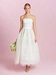 25 Utterly Gorgeous Tea Length and Short Wedding Dresses