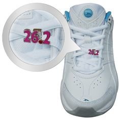 26.2 Marathon (Pink)-LaceBLING Shoe Lace Charm by Chalktalk Sports. $5.99. Let this Shoe Lace Charm mark a great accomplishment.  Running a marathon is a great feat and should be celebrated!Give to a friend as a gift of encouragement and add some 26.2  LaceBLING to your shoe!Our LaceBLING line of Shoe Lace Charms are perfect to motivate, collect and decorate your running shoes.