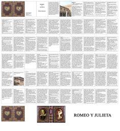 Minilibro de Romeo y Julieta
