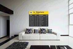 Vindt jij dat gevoel dat je op het punt staat om op vakantie te gaan ook zo heerlijk? Misschien dat je met dit bord in je kamer dat gevoel soms weer even kunt ervaren. Ook al ga je op dat moment niet op reis. www.airpart.nl #woondecoratie #wooninspiratie