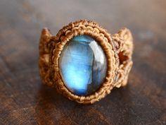 labradrite ring