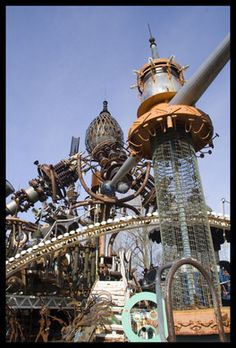 Dr. Evermor's Forevertron | Atlas Obscura