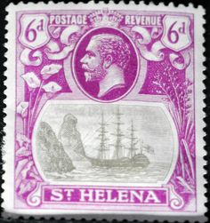 St. Helena (18) 1923 -1937 King George V and Ships