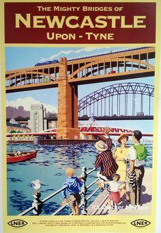 Railway Poster.