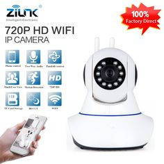 28.88$  Watch now - ZILNK HD 720P IP Camera WiFi Wireless Two way audio Night Vision Onvif Home Security CCTV Surveillance Camera Baby Monitor   #buychinaproducts