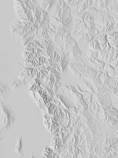 Salt Lake City by Dan Holdsworth. I used to measure the heavens, now I measure the shadows of Earth - Johannes Kepler Art Texture, Snow Texture, Gravure Illustration, Earth View, Web Design, Shades Of White, White Aesthetic, White Art, Textures Patterns