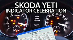 Indicator celebtration activation in #Skoda #Yeti (needle sweep, gauge test) #VCDS #cars #tuning