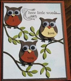 Stampin Up Owl Punch Card Ideas | Owl Punch | Pinterest ...