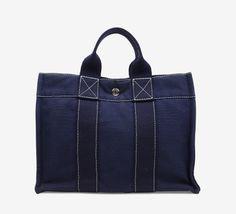 Hermès Navy Handbag