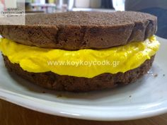 131120126904 Frosting, Icing, Greek Pastries, Pastry Cake, Hamburger, Lemon, Food And Drink, Ice Cream, Ethnic Recipes