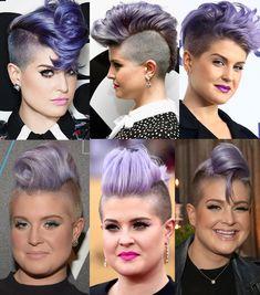 Reunimos os melhores penteados da Kelly Osbourne, do costurado ao trançado, para mostrar que cabelo curto não é sinal de me...