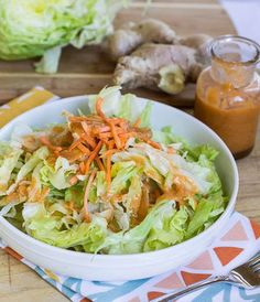 Ginger Dressing | You Never Have To Buy Salad Dressing Again