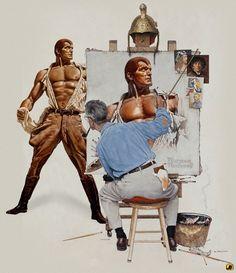 Doc Savage & Rockwell - Fanboyartist.com