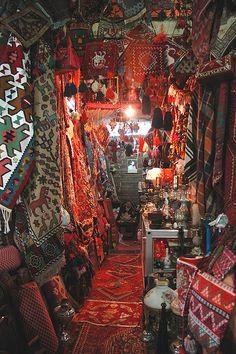 Carpets at Vakil Bazaar, Shiraz, Iran Shiraz Iran, Iran Travel, Staircase Makeover, Tehran Iran, Persian Culture, Iranian Art, Patterned Carpet, Arabian Nights, Persian Carpet