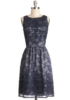 **SWAPPED** Entirely Enchanting Dress in Navy NWT - Size 10 (but will fit a 12, too... might be too baggy in the chest for a 10--fits pretty large)