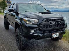 2017 Toyota Tacoma 17x9 0mm Fuel Rebel
